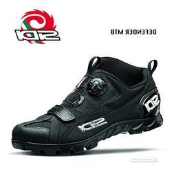 Sidi DEFENDER MTB Outdoor Mountain Bike Shoes : BLACK - NEW