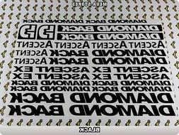 DIAMONDBACK ASCENT EX Stickers Decals Bicycles Bikes Cycles