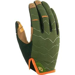 Giro DND Limited Edition Glove - Men's Olive/Orange, L