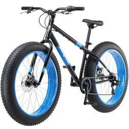 Mongoose Dolomite Fat Tire Men's 7-speed Mountain Bike Bicyc