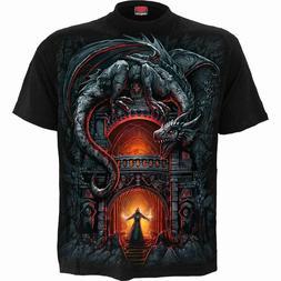 SPIRAL DIRECT DRAGONS LAIR T-Shirt Biker/Skull/Wild/Mountain