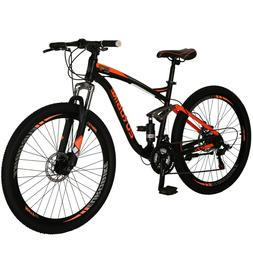 e7 mountain bike 21 speed bicycle 27