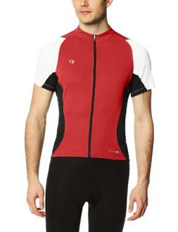 Pearl Izumi Men's Elite Semi Form Jersey, True Red/Black, Me