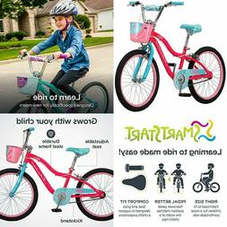 "Schwinn Elm Girl's Bike with SmartStart, 20"" Wheels, Pink"