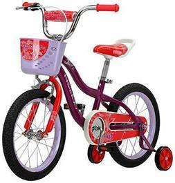 Schwinn S0683AAZ Elm Girl's Bike with SmartStart, Purple, 16