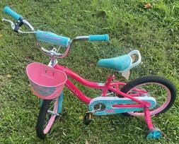 "Schwinn Elm Girl's Bike with SmartStart, 16"" Wheels, Pink"