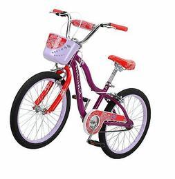 """Schwinn Elm Girl's Bike with SmartStart, 20"""" Wheels, Purple"""