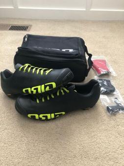 Giro Empire VR90 Mountain Bike Shoes Size US 12.5/EU 46.5 Bl