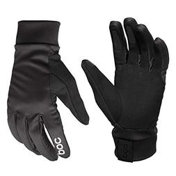 POC Essential Softshell Glove, Cycling Gloves, Uranium Black