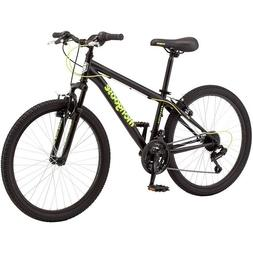 "24"" Mongoose Excursion Boys' Mountain Outdoor Adventures Bik"