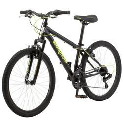 excursion mountain bike 24 21 speed black