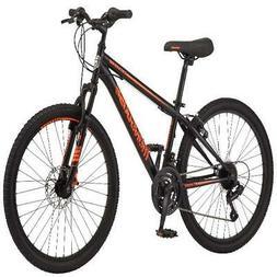 """Mongoose Excursion Mountain Bike, Boys, 24"""", Black/Orange"""