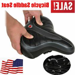 Extra Wide Big Bum Soft Comfort Sporty Bike Bicycle Saddle S