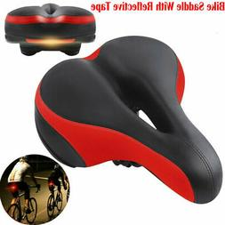 Extra Wide Comfort Saddle Bicycle Seat Pad Soft Padded Mount