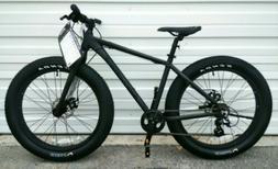 FAT TIRES mountain bike, dual disc brakes, Shimano drivetrai