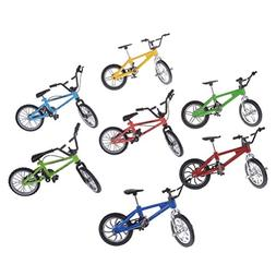 CoscosX 7 Pcs Finger Mountain Bike Toy Realistic Bicycle Mod