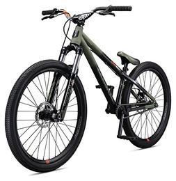 "Mongoose Fireball Single Speed 26"" Dirt Jump Bicycle, Blac"
