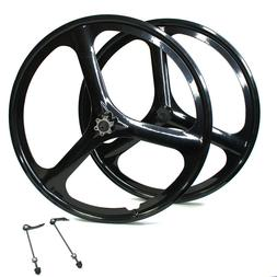 "Fit 26"" MTB Mountain Bike Mag Wheel Set Wheelset Rims Disc B"