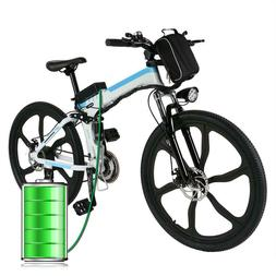 folding electric power bicycle fat tire city