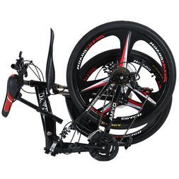 Folding/Full Suspension 26in  Mountain Bike Shimano 21 Speed