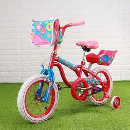 <font><b>Bike</b></font> 14'' Mini girl 3-6 years Red & Pink