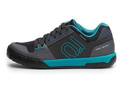 Five Ten Freerider Contact Women's Flat Shoe: Shock Green/On