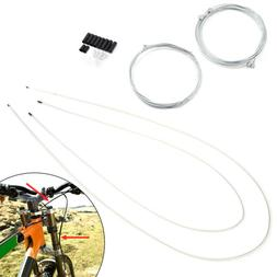 Front & Rear Inner Outer Wire Gear Brake Cable Set Bike Bicy