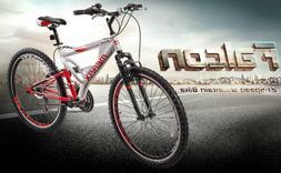 full suspension mountain bike aluminum frame 21