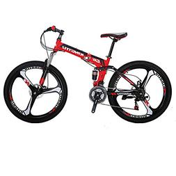 Kingttu KTG6 Mountain Bike 26 Inches 3 Spoke Wheels Dual Sus