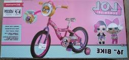 SCHWINN Girls 16 Inch LOL Surprise Bike with Lifetime Warran