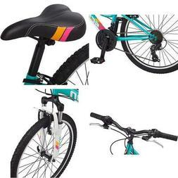 "Girls/Boys High Timber Mountain Bicycle 13"" One Size Teal Li"