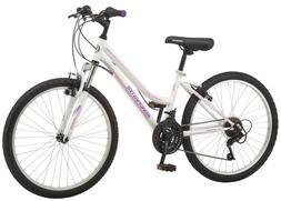 """Girls Mountain Bike 24"""" Girls Wheels Roadmaster Granite Peak"""
