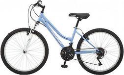 Girls Mountain Bike Bicycle 24 In Cruiser Road Comfort Blue