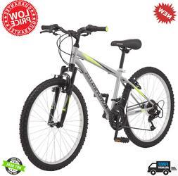 Roadmaster Granite Peak Boy's Mountain Bike, 24-inch wheels