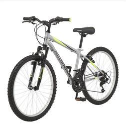 "Roadmaster Granite Peak Boy's Mountain Bike 24"" Silver NEW I"
