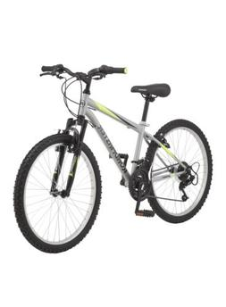 Roadmaster Granite Peak Boy's Mountain Bike, 24-inch wheels,