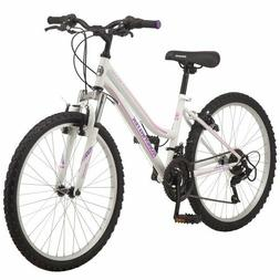 ROADMASTER Granite Peak Girls Women Mountain Gear Bike, 24 I