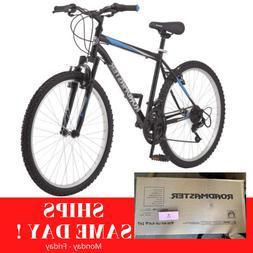 "Roadmaster Granite Peak Men's Mountain Bike 26"" inch Blue/Bl"