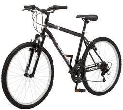 "Roadmaster Granite Peak Men's Mountain Bike, 26"" wheels, Bla"