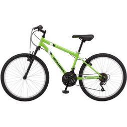 "Roadmaster 24"" Granite Peak Boys Mountain Bike, Green"