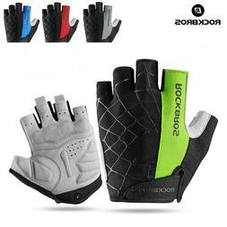 RockBros Half Finger Cycling Short Gloves Shockproof Breatha