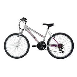 24 inch Girls Hardtail Mountain Bike Shimano 21 Speed Bicycl