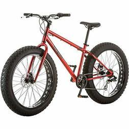 Mongoose Hitch Mens All-Terrain Fat Tire Mountain Bike, 7 Sp