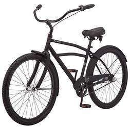 "Schwinn Huron Men's Cruiser Bike, 3-Speed, 26"" Wheels, Black"