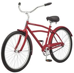 "Schwinn Huron Men's Cruiser Bike, Single Speed, 26"" Wheels,"