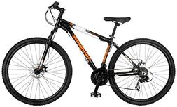 "29"" Mongoose Men's Impasse Mountain Bike Disc Brakes, Black"
