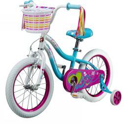 "Schwinn Iris 16"" Kids' Bike - Teal - New - Assembled - Ready"