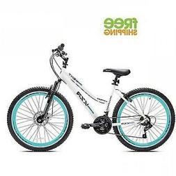 "Kent Mountain Bike 26"" White Women Bicycle Aluminum Frame Di"