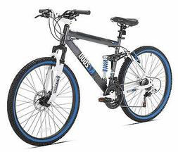 Kent Mens Thurster Mountain Black/blue Bicycle Frame Materia