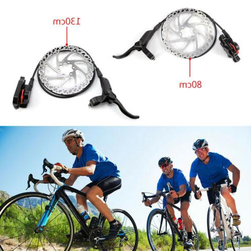 160mm rotors mountain bike hydraulic disc brakes